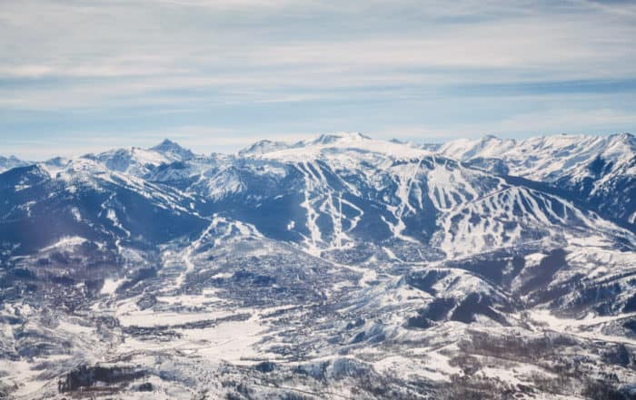Snowmass Aerial View