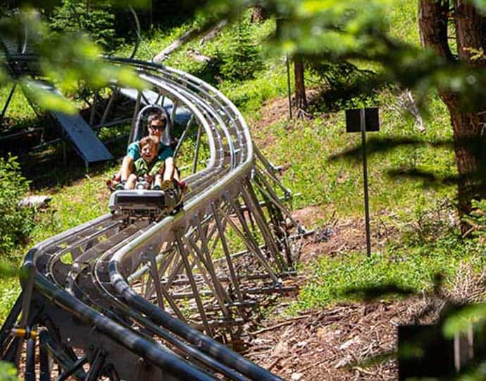 Alpine Coaster in Snowmass, Colorado