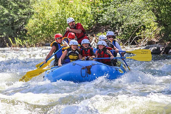 Rafting in Snowmass, Colorado